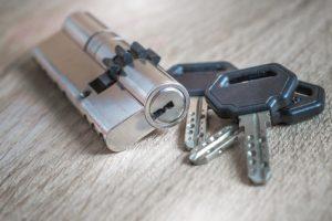 trousseau de clé sur Chevilly laru