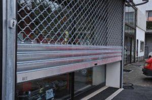 depannage d'un rideaux metallique par une serrurier