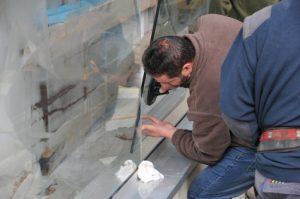 installation d'une vitre sur Montrouge